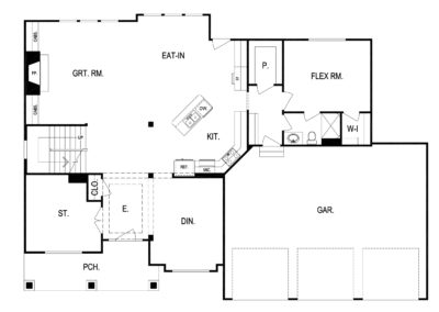 Wildwood by Kevin Higdon lower level floorplan