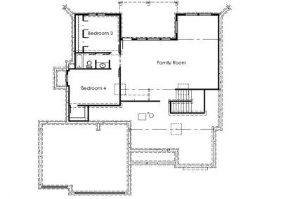 The Mackenzie III lower level floorplan